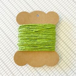 10 Metres High Quality Lime Green Paper String AU $2.95