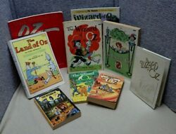 8 Vintage Wizard Of Oz Books Soft Covers amp; Promotional Portfolio LC $24.99