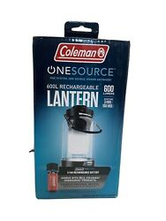 Coleman Rechargeable Lantern Onesource 600L 2000035451 Charges Personal Devices $54.99