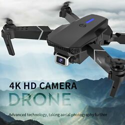 E525 1080P Camera Obstacle Avoidance WiFi FPV Maintaining RC Foldable Drone 4k V $42.32