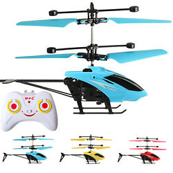 Mini RC Infrared Induction Remote Control 2CH Gyro Helicopter RC Drone $14.34