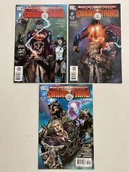 Brightest Day Aftermath The Search For Swamp Thing 123 Constantine Set VF NM $15.00