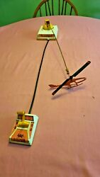 Vertibird Vintage Mattel Flying Helicopter Toy $75.00