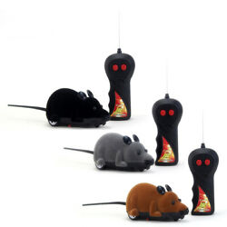 Funny Toy Control Wireless Rat Pet Remote Gift RC Mouse For Cat Dog $9.91