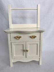 American Girl SAMANTHA Doll Night Stand Dresser Commode Furniture Wash Stand $95.00