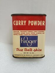 Vintage Tin Curry Powder Container $15.00