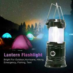 USB LED Rechargeable Outdoor Camping Tent Light Lantern Hiking Ultra Bright Lamp $11.39