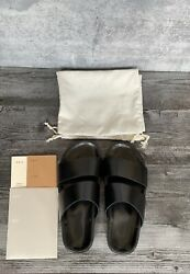 Feit Hand Molded Sandal in Black Size XL Fits 9 10
