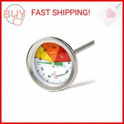 Compost Soil Thermometer by Greenco Stainless Steel Celsius and Fahrenheit … $30.77