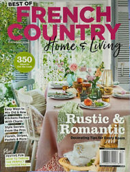 BEST OF FRENCH COUNTRY Homeamp;Living OCT 2021 southern sampler cottage journal NEW $4.45