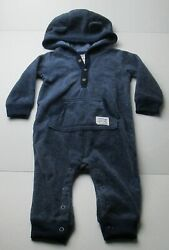 Infant Baby Boys 9 Months Carter#x27;s Awesome Fella Racoon Outfit $4.00