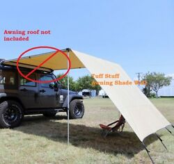 Tuff Stuff Shade Wall for 6.5quot; x 8quot; Roof Top Awning TS AWN SW 6.5 $89.99