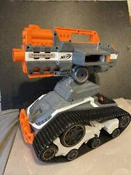 Nerf N Strike TerraScout RC Drone Elite Tank NO Remote Charger Clip $65.00