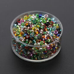 1000x Crystal Seed Beads various Spacer Mini Beads Jewelry Making Beading $6.23