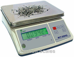33 x 0.001 LB DIGITAL COUNTING PARTS COIN SCALE 15 KG x 0.5 G INVENTORY PAPER MD $174.99