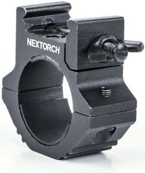 NexTorch Universal Flashlight Mount Fits Tube From 0.87quot; 1.04quot; Aluminum Body $14.49