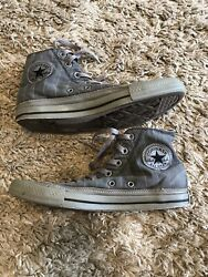 CONVERSE ALL STAR BOYS HIGH TOP SNEAKERS SIZE 6 $14.99