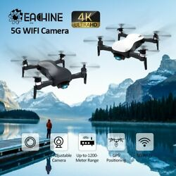 4K HD 3 axis stable gimbal with camera Flight Point RC Drone Quadcopter RTF $288.74