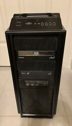 Cooler Master CM Storm Scout Gaming ATX Mid Tower PC Case Black Steel $100.00