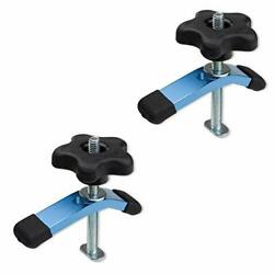 POWERTEC 71389 T Track Mini Hold Down Clamp 3 5 8quot; L x 3 4quot; W – 2 Pack $23.55