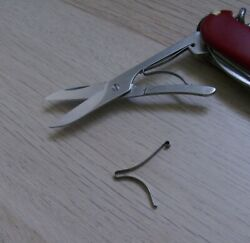 Victorinox Replacement LARGE SCISSOR SPRING Swiss Army SAK Knives A.3757 $3.00