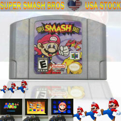 HOT Super Smash Bros Video Game Cartridge Console Card For Nintendo N64 US FAST