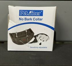 PETAINER No Bark Collar For Dogs 15lbs To 120lbs With Warning Beep $19.99