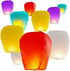 😄 6 pack multicolor Paper Chinese Lanterns for Birthday Wedding Party Biodegra $15.75