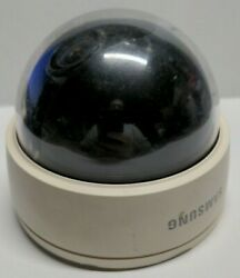 Samsung SCD 2080N Commercial White Dome Security Camera Untested CCTV