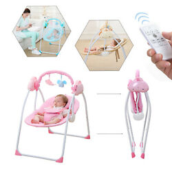 NEW RC Electric Baby Swing Cradle Infant Music Rocking Chair Sway Seat Bouncer $81.05