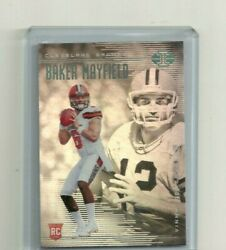 BAKER MAYFIELD 2018 PANINI ILLUSIONS RC WITH TESTAVERDE # 2 $11.99