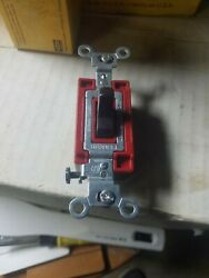 Hubbell Commercial Switch CS320 Brown 3 Way Side Wiring