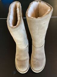 Women's Brown Suede Bearpaw Boots size 11 $18.00