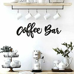 Coffee Bar Wall Decor Kitchen Coffee Wooden Sign Coffee Station Letter Sign $22.16