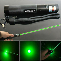 900Miles Rechargeable Lazer Green Laser Pointer Pen Astronomy Visible Beam Light $10.99
