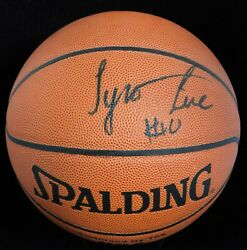 Tyronn Lue Signed Spalding Indoor Outdoor Basketball JSA Authenticated $84.99