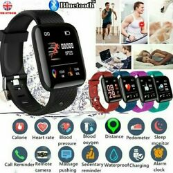116Plus Smart Watch Bluetooth Heart Rate Blood Pressure Fitness **PROMOTION** $9.99