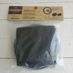 Behrens Compost Pail Charcoal Filters 4pk 2 Round 2 Square Odorless Composting $4.95