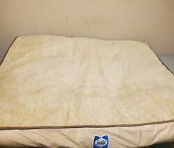 Sealy Dog Bed Extra Large 48x38 Orthopedic USED Has Hair On It Free Shipping $41.95