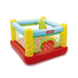 Safe Inflatable Bounce House Kids Slide Jumping Bouncer Castle baby w Play Balls $76.99