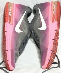 Nike Air Max Sequent Running Women#x27;s Shoes Gray Pink 719916 602 Size US 7 $35.49