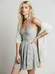 Free People Lace Dress Cute for Halloween Costume Size Large $26.99