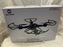 Holy Stone F181C Quadcopter HD Camera Altitude Hold Headless Mode 2 Batteries $35.00