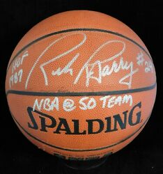 Rick Barry Signed Spalding Indoor Outdoor Basketball JSA Authenticated $174.99