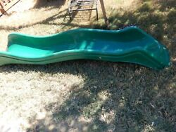 Used Slide Outdoor Kids Playground Playset Green LOCAL PICKUP ONLY N TEXAS 75068 $100.00