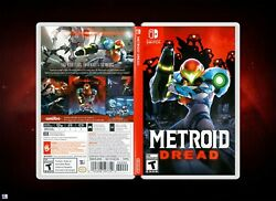 Metroid Dread Cover Art: Replacement Insert amp; Case for Nintendo Switch $8.99