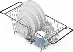 In Sink Dish Drying Rack Large Drainer Over The Kitchen For Small Spaces $20.99