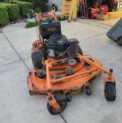 Scag 52quot; hydro walk behind commercial lawn mower kawasaki motor sulky $3000.00
