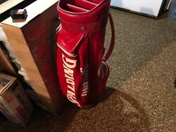 vintage spalding staff bag rain cover new never used $65.00