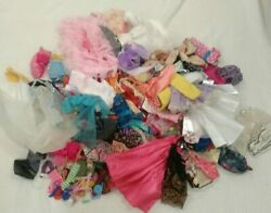 Vintage Modern Lot Barbie Dolls Clothes Mixed Sizes Styles Age Condition $40.00